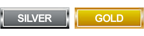 silver-and-gold-square-buttons