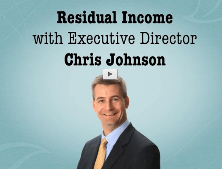 Residual Income with Chris Johnson