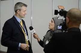grant funding expert chris johnson Expert TV interview Business 2012 Event London