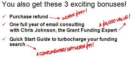 grantfundingexpertchrisjohnsonaustraliabonuses2012