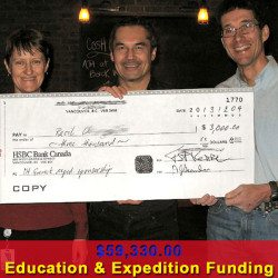 Education & Mount Everest Expedition Funding